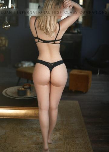 Sensual Escort Model naked